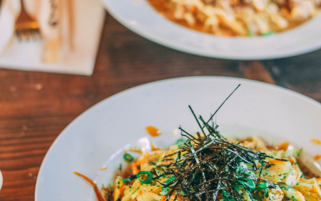"""Ramen Noodles"" mit Tofu und Seealgen in Helsinki"