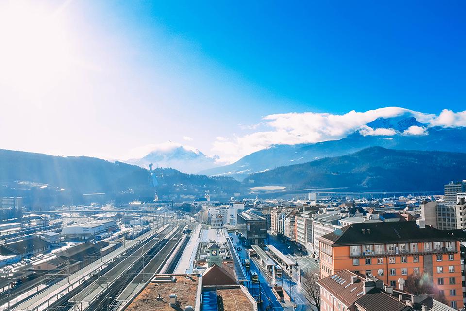 Innsbruck aDLERS Hotel | vegan essen im weitsicht Restaurant